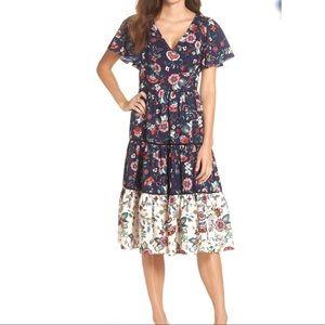 Eliza J Women's Floral Boho Dress